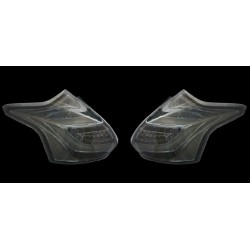 LED Rückleuchten Schwarz Ford Focus 2011-