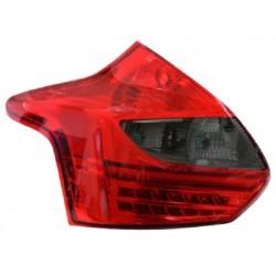 LED Rückleuchten Chrom Smoke Ford Focus 2011-