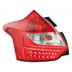 LED Rückleuchten Rot Smoke Ford Focus 2011-