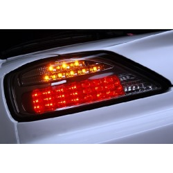 LED Rückleuchten Schwarz Nissan S15 Silvia