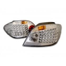LED Rückleuchten Chrom E60-Style Peugeot 307 01-04