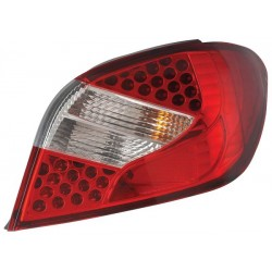 LED Rückleuchten Rot E60-Style Peugeot 307 01-04