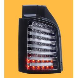 Full LED Rückleuchten Schwarz Smoke VW T5