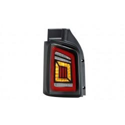 Full LED Rückleuchten V2 Schwarz Smoke VW T5