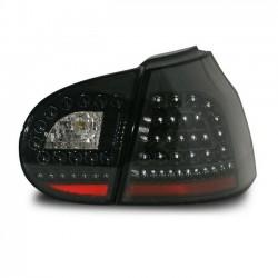 LED Rückleuchten Schwarz VW Golf 5