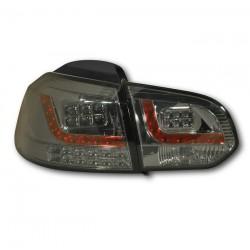LED Rückleuchten Schwarz Smoke VW Golf 6