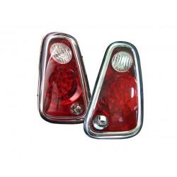 LED Rückleuchten Rot Klar Mini Cooper R50