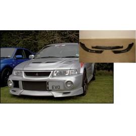 Frontspoilerlippe 3 Teilig Mitsubishi EVO 6 Carbon